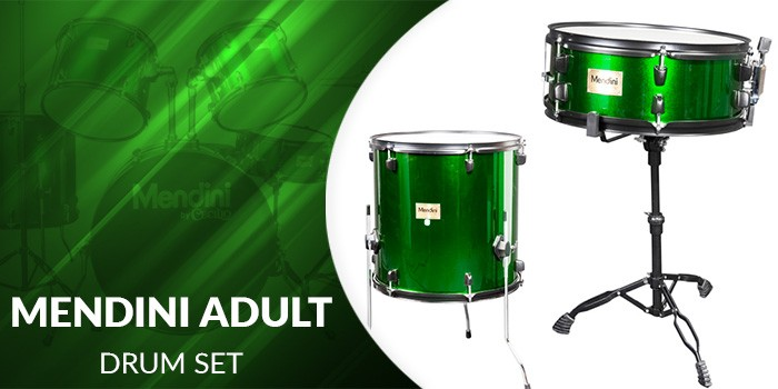 Mendini Adult drum set - Desktop Hero Banner