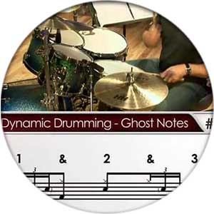 Image with drum notes